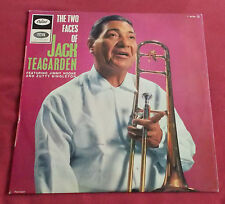 JACK TEAGARDEN LP ORIG FR 60'S  THE TWO FACES OF FEAT. JIMMY NOONE  Z. SINGLETON