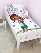 DOC MCSTUFFINS JUNIOR DUVET COVER SET 'PET VET' - COTTON MIX - 'MY FIRST DUVET'