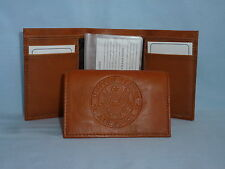 United States Air Force  USAF   Leather TriFold Wallet    NEW    brown 2