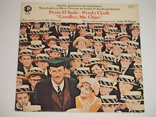GOODBYE, MR. CHIPS (Peter O'Toole, Petula Clark) LP  Soundtrack  OST