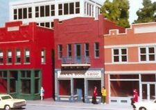 Smalltown USA/RIX -HO #699-6024 City Buildings -- Buck's Book Shop - NIB