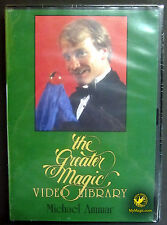 Greater Magic #6 Michael Ammar :: NEW DVD