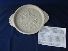 Flower Cookie Mold ~Gingerbread Shortbread Cookie Chocolate Wax Clay Paper Mache