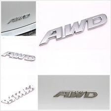 Car SUV Off Road Pickup Exterior Metal Chrome 3D AWD Emblem Decal Sticker MH