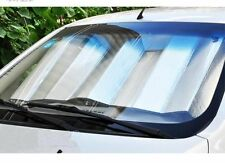 Metallic Foldable  Car Sun Shade Visor Shield Reflective Shades  FAST UK POST