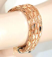 BRACCIALE ORO donna dorato bracelet armband ragazza bigiotteria idea regalo A8