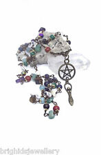The Fidgety Witch – Wiccan Pagan Gemstone Rosary Pagan Jewellery - Made to Order