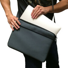 "Grey 13"" 13.3"" Messenger Shoulder Case Bag for Apple Macbook Pro & Macbook Air"