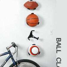 PC Ball Holder Ball Claw Wall Rack Display for Rugby Soccer Football Basketball
