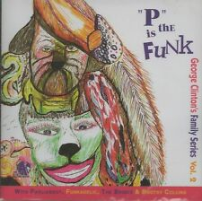 George Clinton Family - P Is The Funk    new cd in seal
