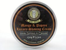 Shaving Cream Mango & Papaya 100% Natural & Organic Handmade in London
