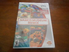 Namco Museum Remix Nintendo Wii Game New Sealed!
