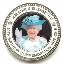 H.M. Queen Elizabeth 90th Birthday Commemorative Coin Without Gift Box