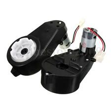 2x Motor Electric Gear Box 12V Kids Ride On Car For BMW Audi TT Hummer Jeep