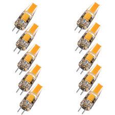 10pcs G4 6W EPISTAR AC DC 12V Dimmable LED COB Bulb Light Lamp for DropLight