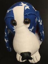 Sugar Loaf Hound USA Patriotic Hound Dog Plush Red Blue And White