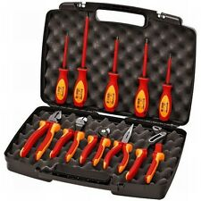 Knipex 10 Piece Insulated Electricians Tool Kit w/Case
