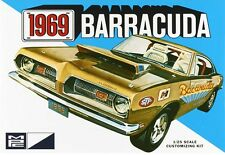 MPC 1:25 1969 Plymouth Barracuda Plastic Model Kit MPC832