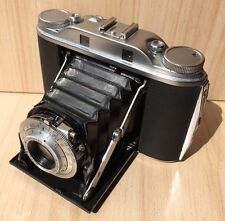 Vintage Collectible Retro Agfa Isolette III Folding Photo Camera W/ Leather Case