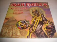 IRON MAIDEN - Maiden Hell! Promotional CD ROM - RARE SEALED PROMO ONLY videos