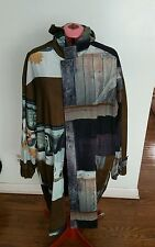paul smith london vintage cotton corduroy XL COAT MEN punk RADIO BARN HORSE