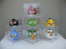 7 pcs/set Angry Birds Figures Toys doll cartoon movie decoration collectable