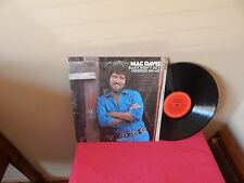 "MAC DAVIS: BABY DON'T GET HOOKED ON ME     12""     33 RPM   LP"