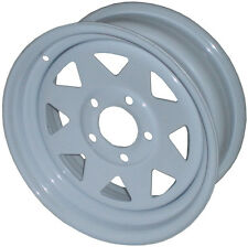 "13"" Sunraysia Wheel Rim White Holden HT Stud Pattern Trailer Caravan Boat New"