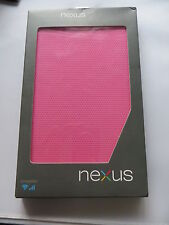 Genuine Official Asus Google Nexus 7 Tablet Travel Cover Case - Pink