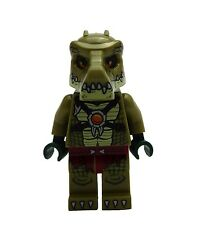 Lego Krokodil Kämpfer (Version 2) Legends of Chima Minifigur Neu loc123