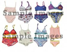 Assorted Pack Kid's Underwear Girls Mixed Sizes Styles Bra & Panty Set 60 Bundle