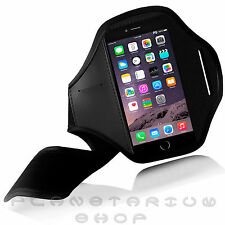 NEW BLACK SPORTS ARMBAND COVER CASE FOR IPHONE 6 GYM RUNNING FOOTING ADJUSTABLE