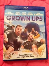 GROWN UPS BLU-RAY 2010 COMEDY MOVIE SANDLER JAMES ROCK SPADE SCHNEIDER