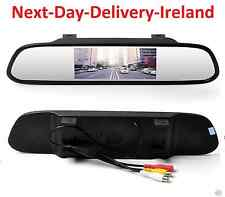 "Car Auto Reverse Parking Rearview Mirror 4.3"" Color Digital LCD Display Monitor"