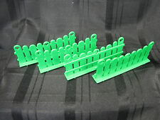 Vintage My Little Pony Show Stable Green Fence Lot Of 4 - Playset Part MLP 1983