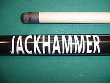 JACKHAMMER JUMP BREAK CUE 19oz.  pool billiards 07-1562-15