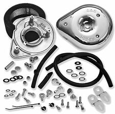 S S Cycle S S Cycle 17-0448 Teardrop Air Cleaner Kit, Stock CV EFI 49-9370