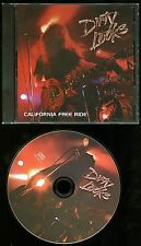 Dirty Looks California Free Ride Cd Silver disc not cd-r