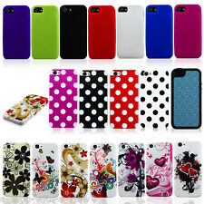 Wholesale Lot of 20 pcs Soft TPU Rubber Cases Covers Skins for Apple iPhone 5 5S