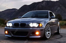 BMW E46 Proyector no Anillo Halo LED SMD Luces de Ojo Angel Blanco Super Reflector