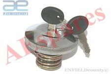SUZUKI SAMURAI CHROME LOCKABLE FUEL TANK CAP - 2 GYPSY ISUZU IVECO @ECspares