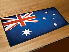 Australian grunge flag bar runner home bar counter mat Pubs & Cocktail Bars