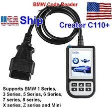 USA Free Ship V4.3 Creator C110+  for BMW Cars OBD2 Code Reader Diagnostic  Tool