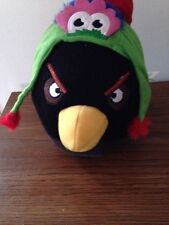 Angry Bird With philly Phanatic Hat Plush Toy