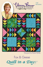 QUILT IN A DAY Easy Quilt Pattern  ELEANOR BURNS FOX & GEESE new store supply