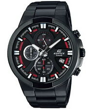 Casio Edifice Black Chronograph Stainless Steel Men's Watch EFR-544BK-1A4