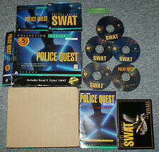 Police Quest Collection - 5 Games - Classic - Big Box PC CD-Rom Game Windows