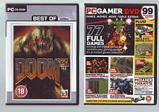 DOOM 3 - FPS SHOOTER PC GAME - FAST POST - COMPLETE WITH MANUAL & BONUS MOD DISC
