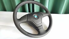 BMW M3 M5 E36 E34 E39 E31 Z3 New Perforated Leather Steering Wheel ///M Stitch