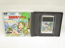 JISSEN KABUSHIKI BAI BAI Baibai GAME PC-Engine Hu Grafx Import Japan Game pe